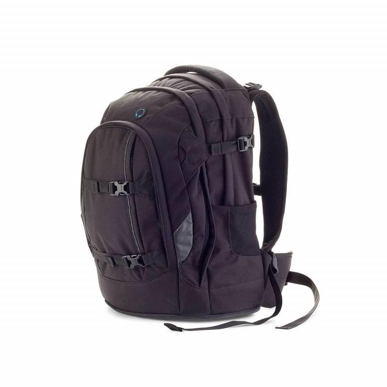 Satch Pack Rucksack Black Bounce, Farbe: schwarz, Marke: Satch, EAN: 4260389760117, Abmessungen in cm: 30.0x45.0x22.0, Bild 2 von 3