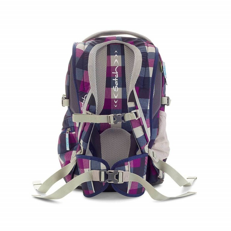 Satch-Air Rucksack Berry Carry, Farbe: flieder/lila, Manufacturer: Satch, EAN: 4260389768380, Dimensions (cm): 30.0x43.0x22.0, Image 3 of 3