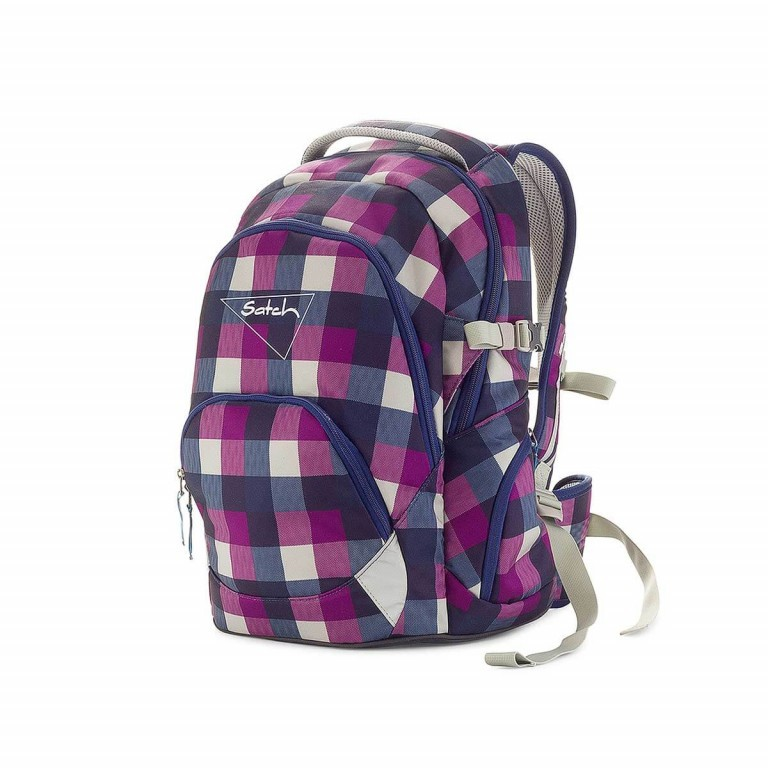 Satch-Air Rucksack Berry Carry, Farbe: flieder/lila, Manufacturer: Satch, EAN: 4260389768380, Dimensions (cm): 30.0x43.0x22.0, Image 2 of 3
