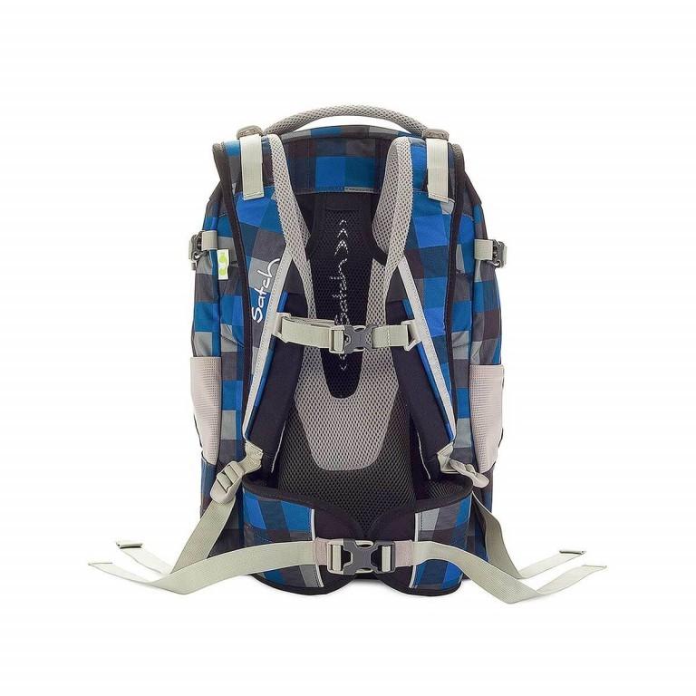 Satch Rucksack Airtwist, Farbe: blau/petrol, Marke: Satch, EAN: 4260389760025, Abmessungen in cm: 30.0x45.0x22.0, Bild 3 von 3