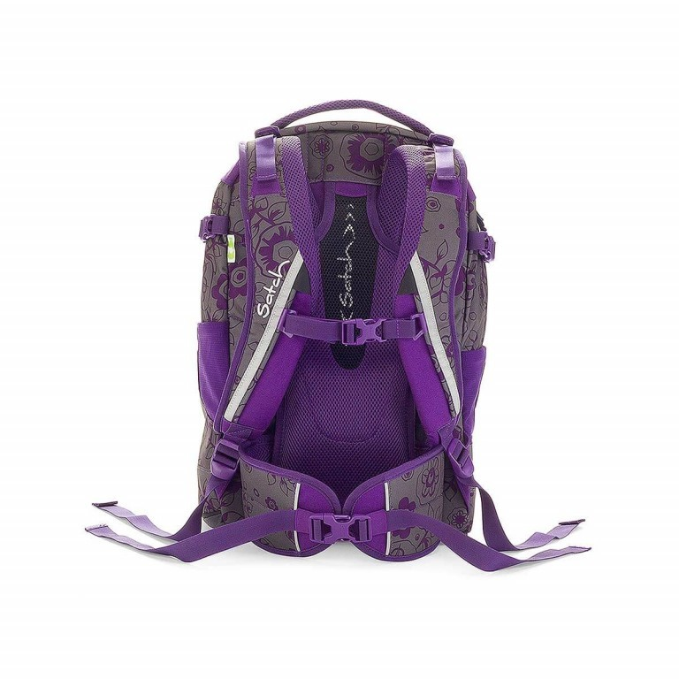 Satch Pack Rucksack Bloomy Baby, Farbe: flieder/lila, Manufacturer: Satch, EAN: 4260389760087, Dimensions (cm): 30.0x45.0x22.0, Image 3 of 3