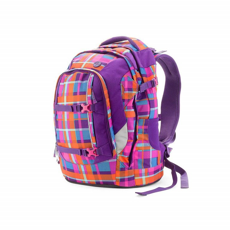 Satch Pack Rucksack Tropic Thunder, Farbe: orange, Manufacturer: Satch, EAN: 4260389760094, Dimensions (cm): 30.0x45.0x22.0, Image 2 of 3