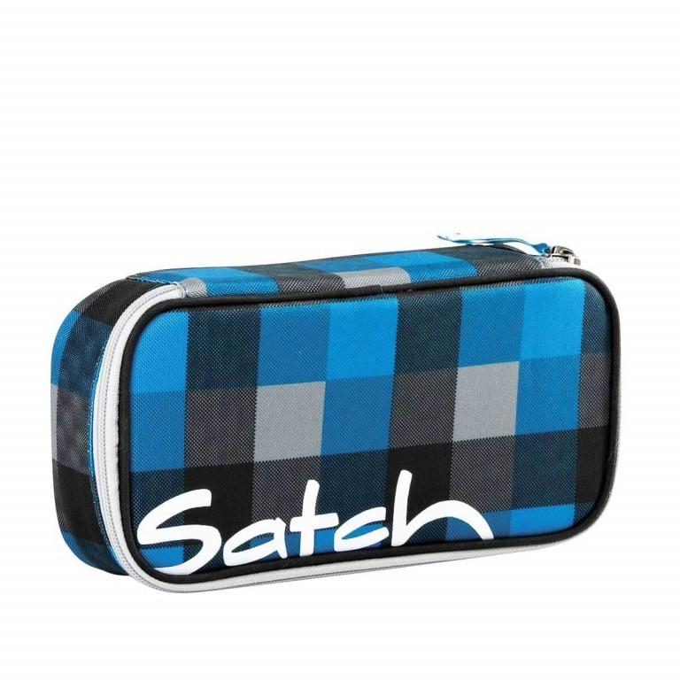 Satch Schlamperbox Airtwist, Farbe: blau/petrol, Manufacturer: Satch, EAN: 4260217194145, Dimensions (cm): 23.0x12.5x7.0, Image 1 of 3