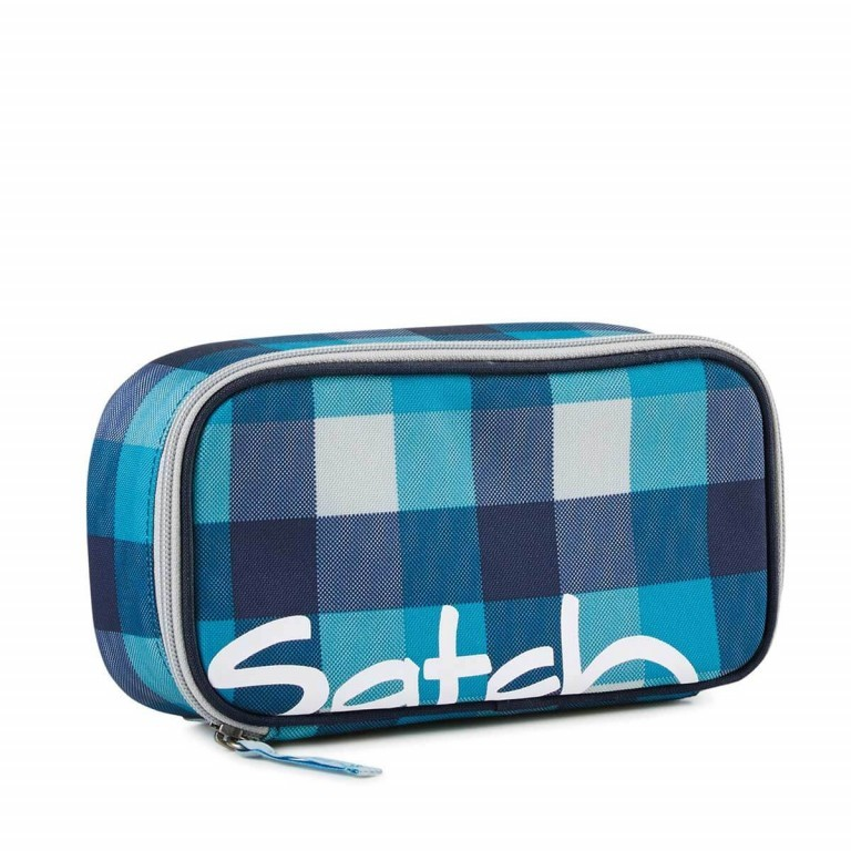 Satch Schlamperbox Blister, Farbe: blau/petrol, Manufacturer: Satch, EAN: 4260217198297, Dimensions (cm): 23.0x12.5x7.0, Image 1 of 3