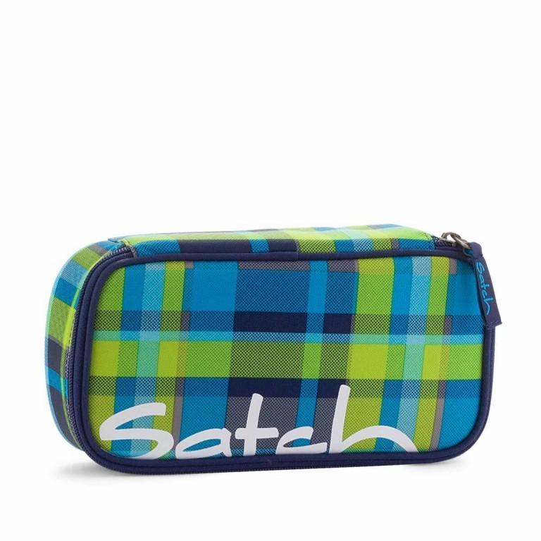 Satch Schlamperbox Breezer, Farbe: grün/oliv, Manufacturer: Satch, EAN: 4260389760261, Dimensions (cm): 23.0x12.5x7.0, Image 1 of 3