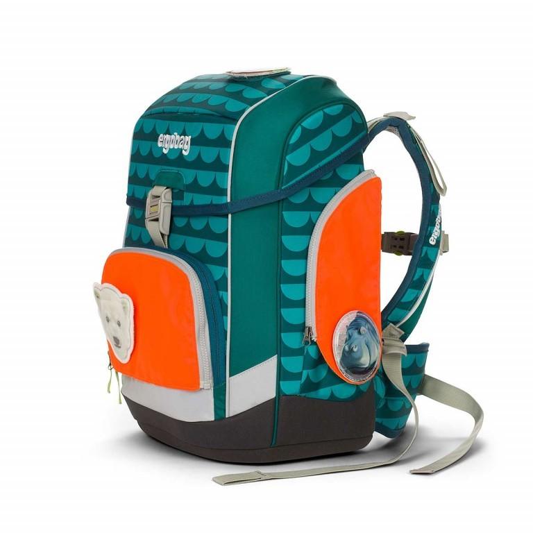 Ergobag Sicherheitsset Grün, Farbe: grün/oliv, Marke: Ergobag, EAN: 4260217198174, Abmessungen in cm: 24.0x31.0x5.0, Bild 2 von 2