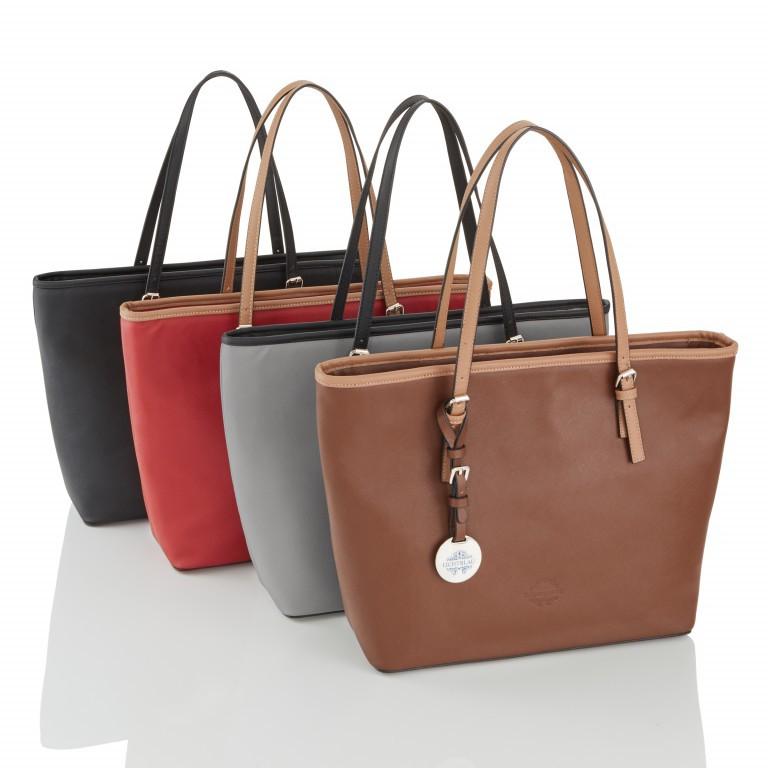 LICHTBLAU Shopper Braun, Farbe: braun, Marke: Lichtblau, Abmessungen in cm: 46.0x31.0x8.0, Bild 5 von 5