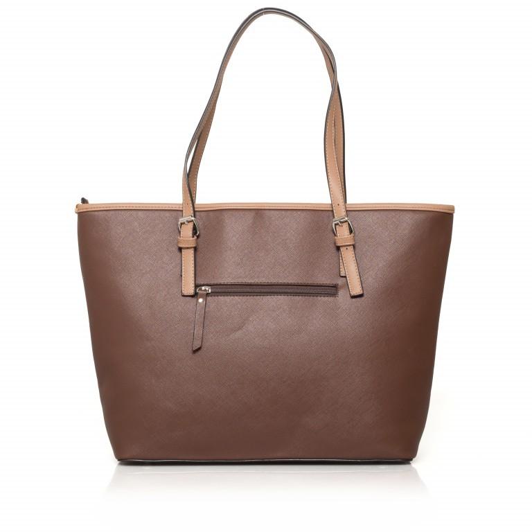 LICHTBLAU Shopper Braun, Farbe: braun, Marke: Lichtblau, Abmessungen in cm: 46.0x31.0x8.0, Bild 3 von 5