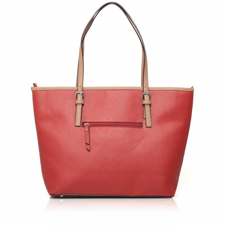 LICHTBLAU Shopper Rot, Farbe: rot/weinrot, Marke: Lichtblau, Abmessungen in cm: 46.0x31.0x8.0, Bild 3 von 5