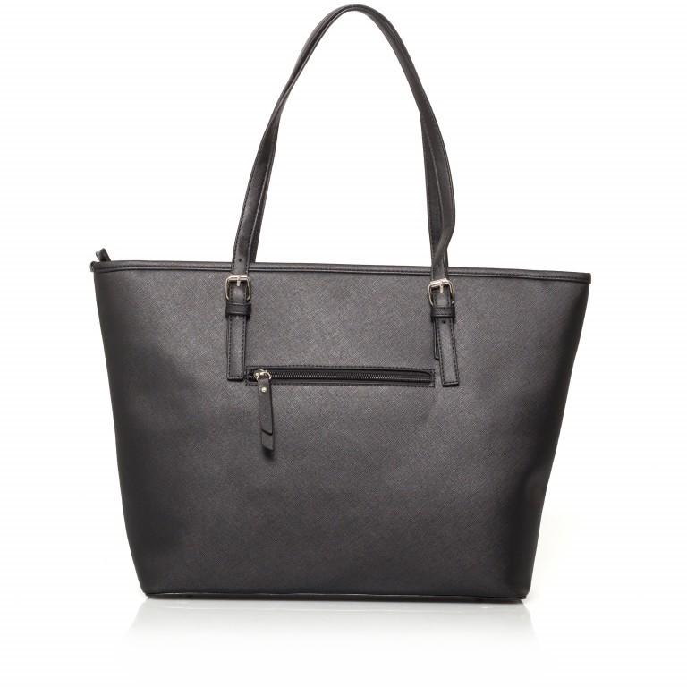 LICHTBLAU Shopper Schwarz, Farbe: schwarz, Marke: Lichtblau, Abmessungen in cm: 46.0x31.0x8.0, Bild 3 von 5