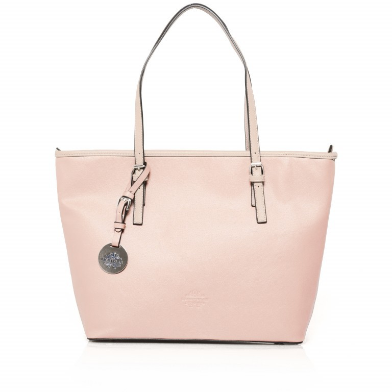 LICHTBLAU Shopper Rosa, Farbe: rosa/pink, Marke: Lichtblau, Abmessungen in cm: 46.0x31.0x8.0, Bild 1 von 5
