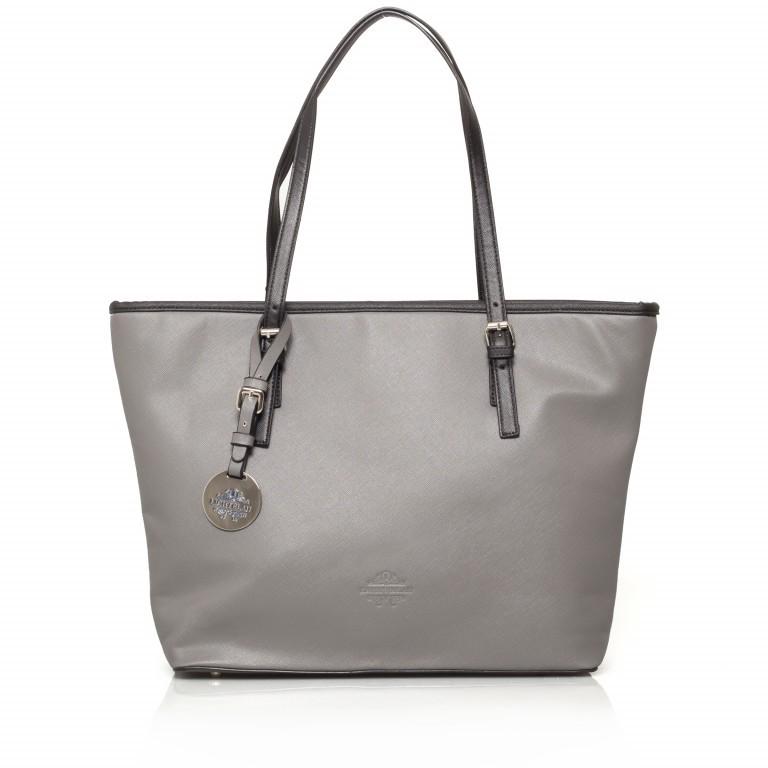 LICHTBLAU Shopper, Farbe: schwarz, grau, braun, rot/weinrot, Marke: Lichtblau, Abmessungen in cm: 46.0x31.0x8.0, Bild 1 von 1
