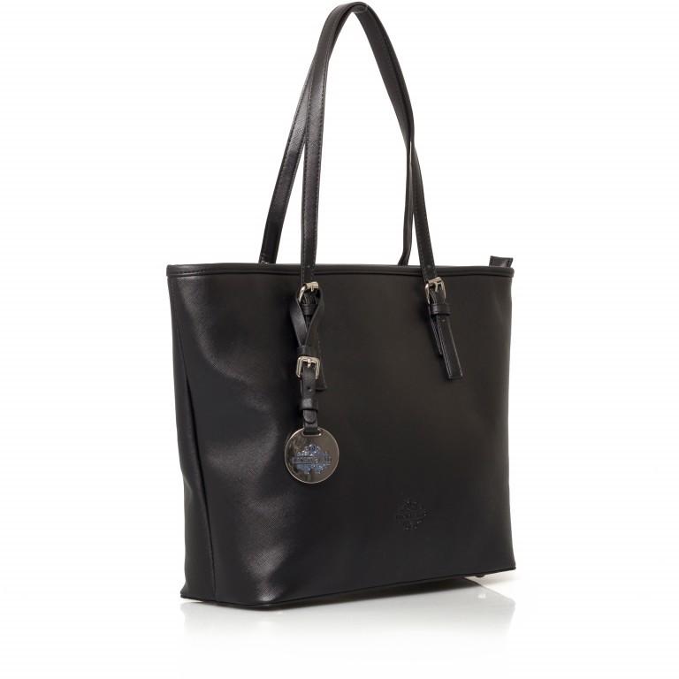 LICHTBLAU Shopper Schwarz, Farbe: schwarz, Marke: Lichtblau, Abmessungen in cm: 46.0x31.0x8.0, Bild 2 von 5