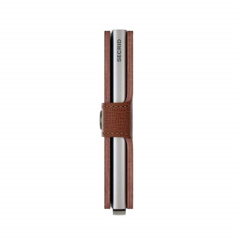 SECRID Miniwallet Crisple Cognac, Farbe: cognac, Marke: Secrid, Abmessungen in cm: 6.8x10.2x2.1, Bild 3 von 3