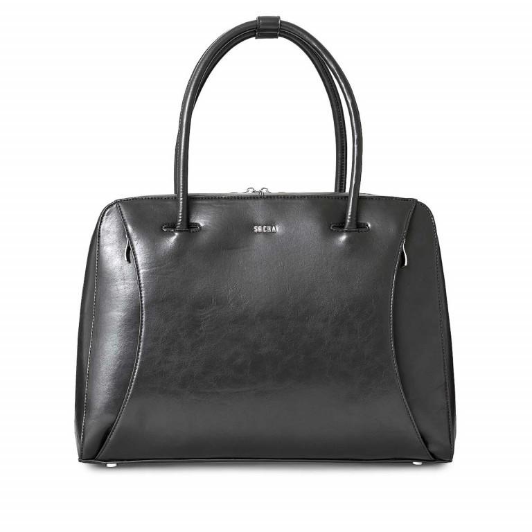 Socha Business Bag Black Swan, Farbe: schwarz, Marke: Socha, EAN: 4029276048222, Abmessungen in cm: 43.5x32.5x9.5, Bild 1 von 5