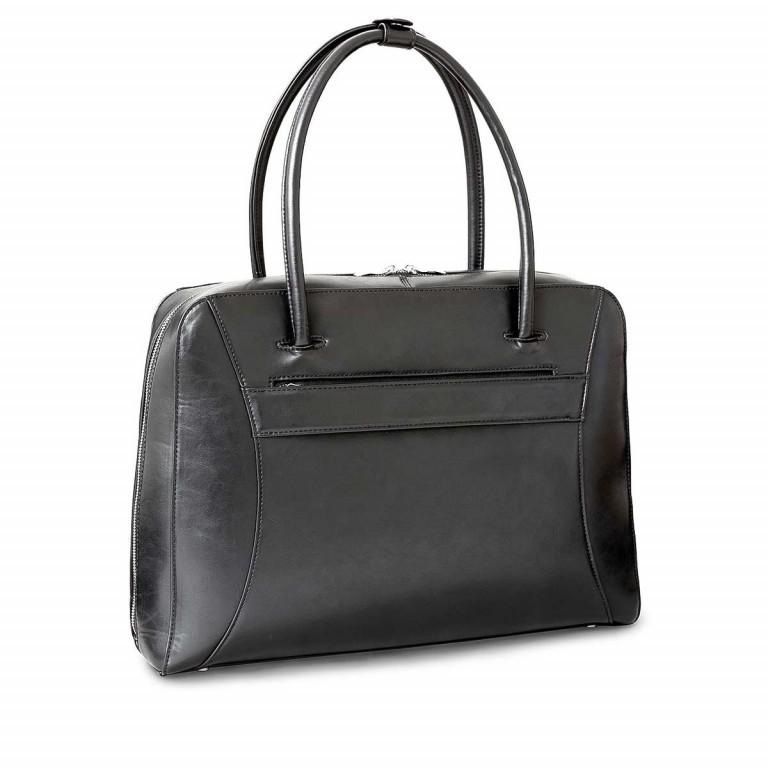 Socha Business Bag Black Swan, Farbe: schwarz, Marke: Socha, EAN: 4029276048222, Abmessungen in cm: 43.5x32.5x9.5, Bild 3 von 5