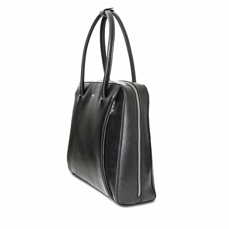 Socha Business Bag Black Swan, Farbe: schwarz, Marke: Socha, EAN: 4029276048222, Abmessungen in cm: 43.5x32.5x9.5, Bild 2 von 5