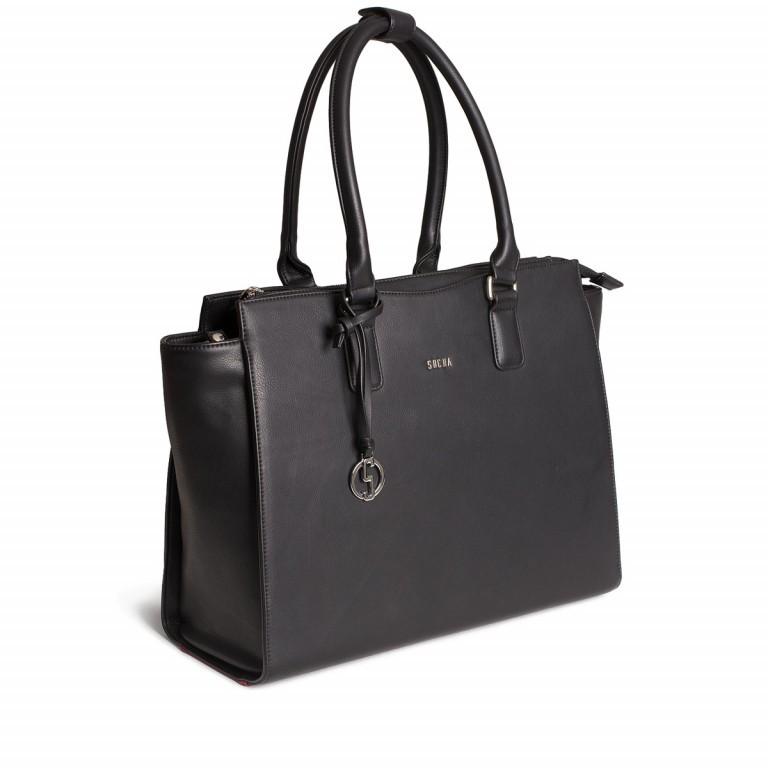 Socha Business Bag Caddy Nero, Farbe: schwarz, Marke: Socha, Abmessungen in cm: 48.0x32.5x14.0, Bild 2 von 4
