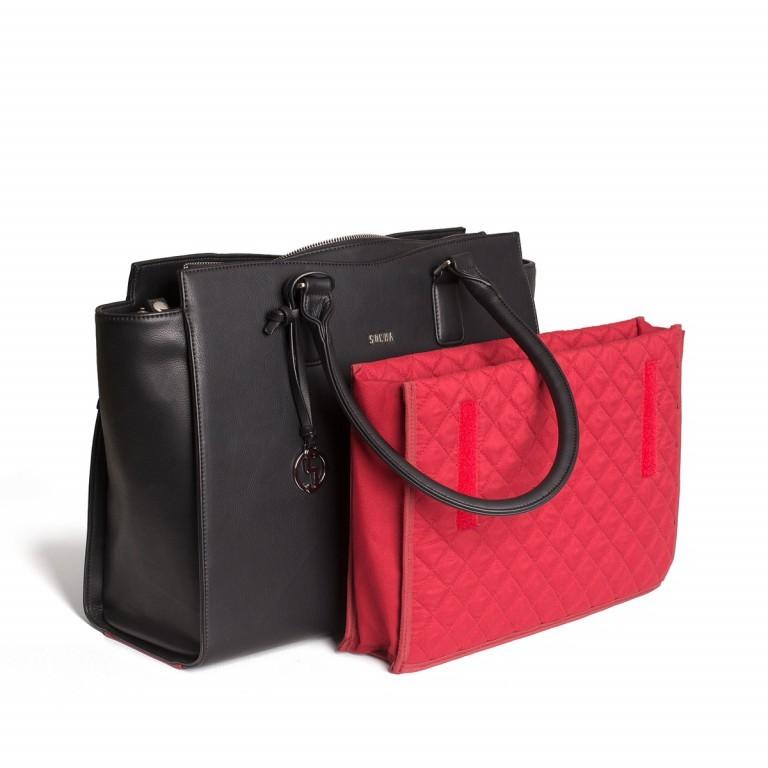 Socha Business Bag Caddy Nero, Farbe: schwarz, Marke: Socha, Abmessungen in cm: 48.0x32.5x14.0, Bild 3 von 4