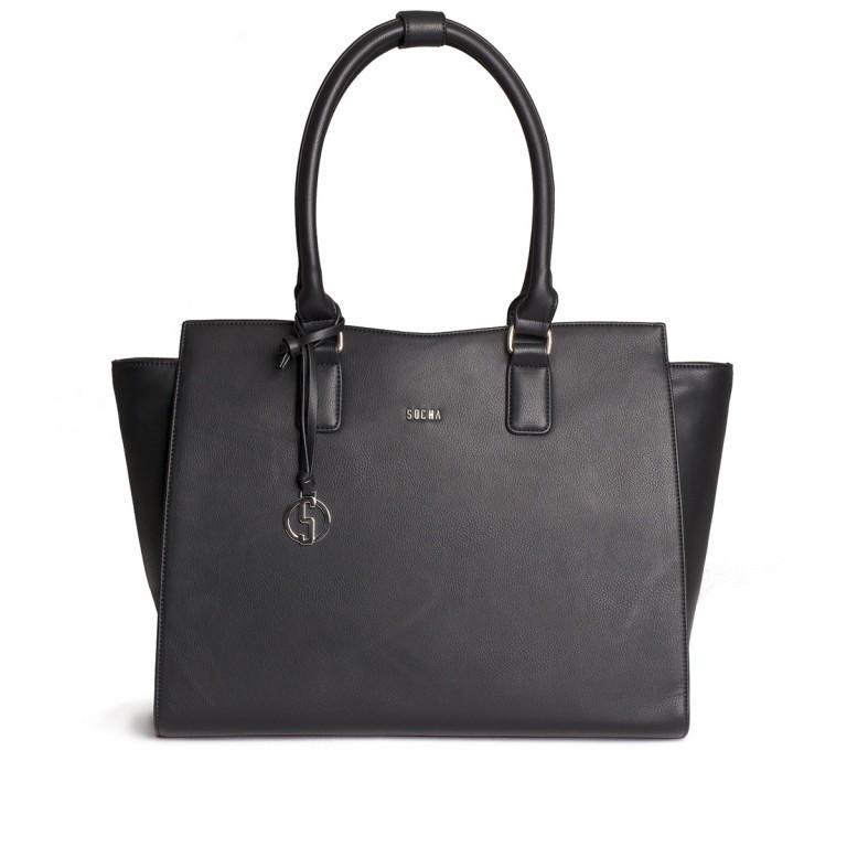 Socha Business Bag Caddy Nero, Farbe: schwarz, Marke: Socha, Abmessungen in cm: 48.0x32.5x14.0, Bild 1 von 4