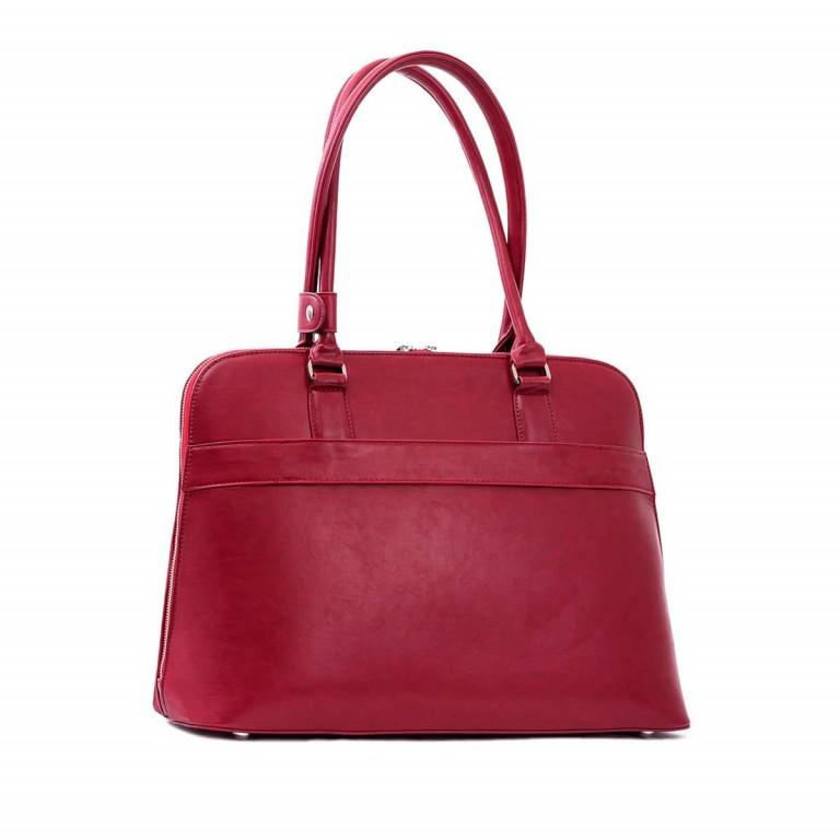 Socha Business Bag Couture Rouge, Farbe: rot/weinrot, Marke: Socha, EAN: 4029276048178, Abmessungen in cm: 44.5x32.5x14.0, Bild 3 von 5