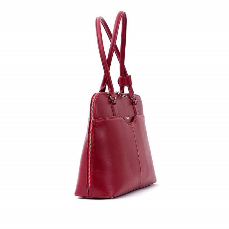Socha Business Bag Couture Rouge, Farbe: rot/weinrot, Marke: Socha, EAN: 4029276048178, Abmessungen in cm: 44.5x32.5x14.0, Bild 2 von 5