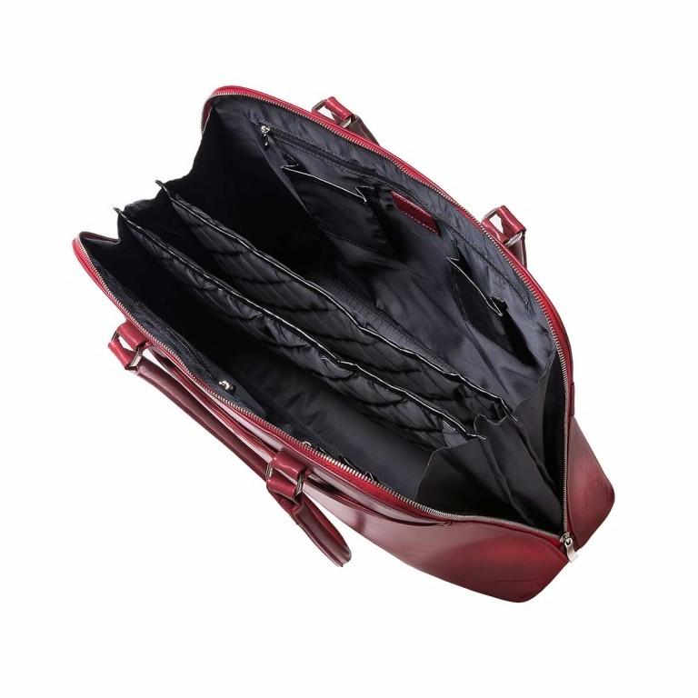 Socha Business Bag Couture Rouge, Farbe: rot/weinrot, Marke: Socha, EAN: 4029276048178, Abmessungen in cm: 44.5x32.5x14.0, Bild 4 von 5