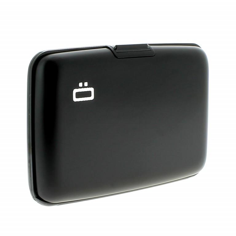 ÖGON Card-Case Stockholm Black, Farbe: schwarz, Marke: Ögon, Abmessungen in cm: 10.9x7.2x1.9, Bild 5 von 7
