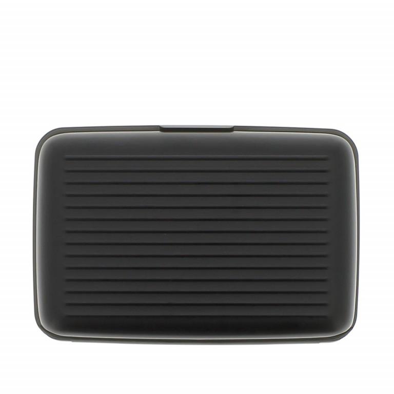 ÖGON Card-Case Stockholm Black, Farbe: schwarz, Marke: Ögon, Abmessungen in cm: 10.9x7.2x1.9, Bild 4 von 7