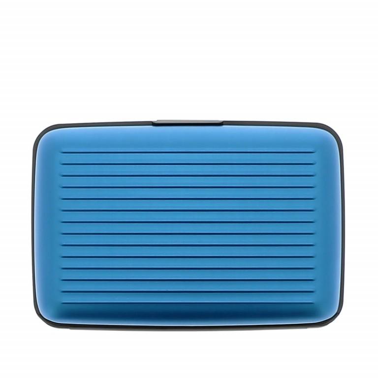 ÖGON Card-Case Stockholm Blue, Farbe: blau/petrol, Marke: Ögon, Abmessungen in cm: 10.9x7.2x1.9, Bild 4 von 7