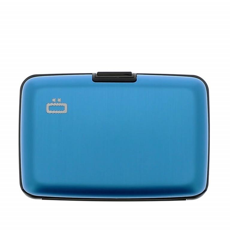 ÖGON Card-Case Stockholm Blue, Farbe: blau/petrol, Marke: Ögon, Abmessungen in cm: 10.9x7.2x1.9, Bild 1 von 7