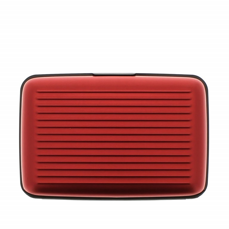 ÖGON Card-Case Stockholm Red, Farbe: rot/weinrot, Manufacturer: Ögon, Dimensions (cm): 10.9x7.2x1.9, Image 4 of 7