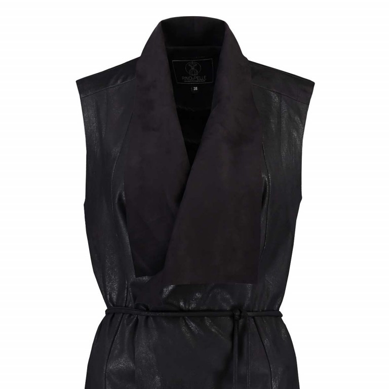 RINO & PELLE Weste Stylist Black Gr.38, Farbe: schwarz, Marke: Rino & Pelle, Bild 2 von 2