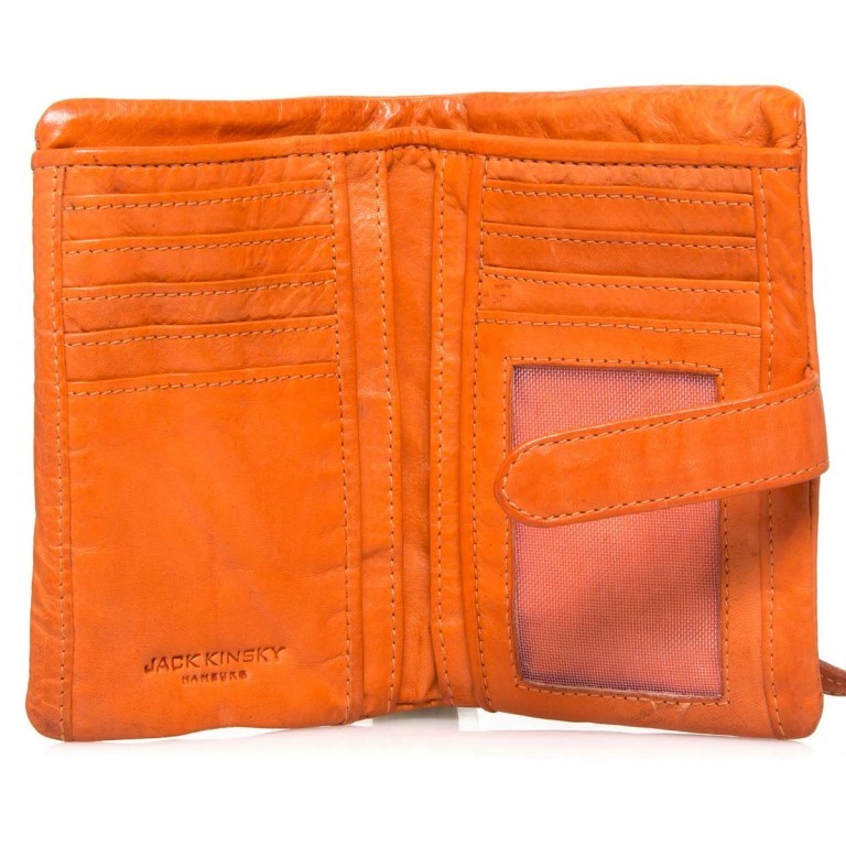 JACK KINSKY Sydney 818-360 Orange, Farbe: orange, Marke: Jack Kinsky, EAN: 4051482407739, Abmessungen in cm: 10.0x14.0x2.5, Bild 3 von 3