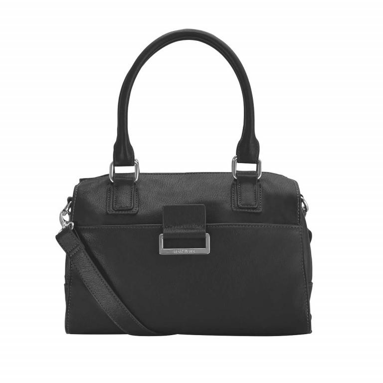 Gerry Weber Talk Different Handbag Synthetisches Leder Schwarz, Farbe: schwarz, Marke: Gerry Weber, EAN: 4053533130436, Abmessungen in cm: 29.5x19.0x15.0, Bild 1 von 1