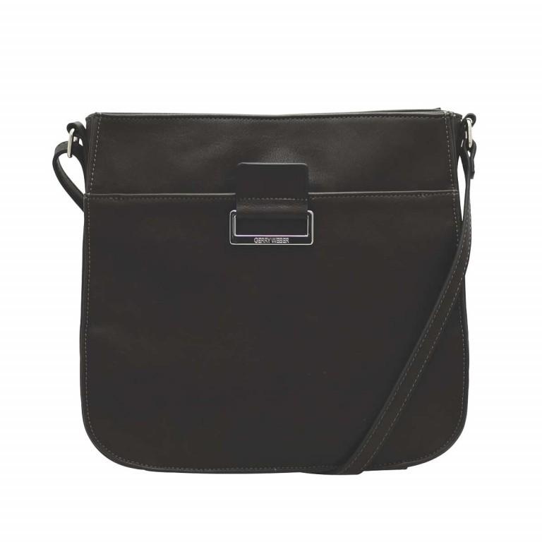 Gerry Weber Talk Different Shoulder Bag Synthetisches Leder Schwarz, Farbe: schwarz, Marke: Gerry Weber, EAN: 4053533180080, Abmessungen in cm: 28.0x26.0x6.0, Bild 1 von 1