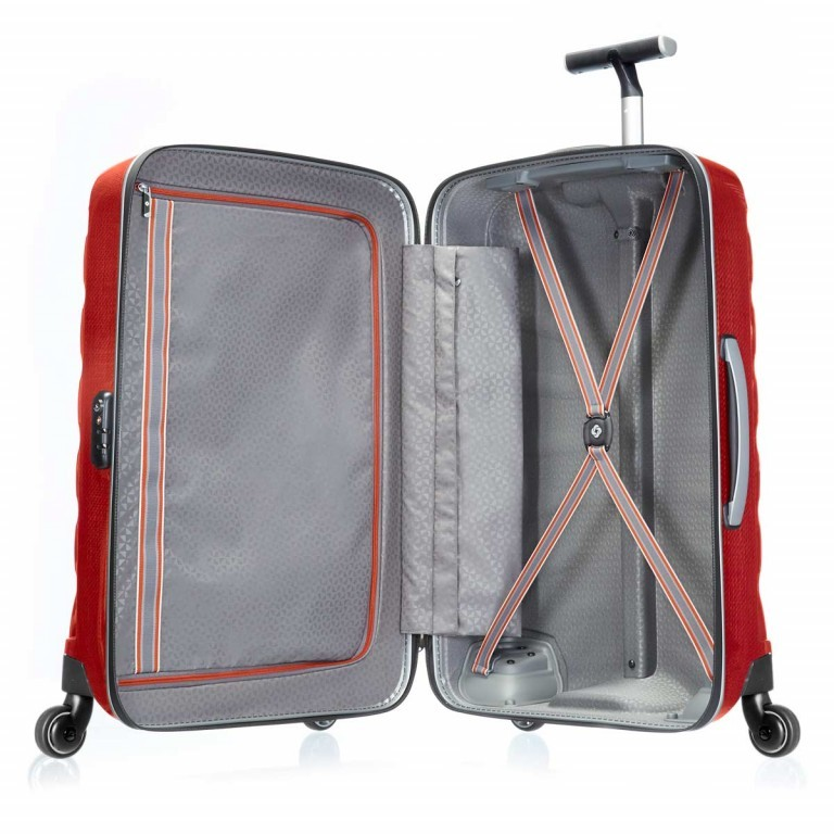 Samsonite Firelite 48574 Spinner 55 Chili Red, Farbe: rot/weinrot, Manufacturer: Samsonite, Dimensions (cm): 40.0x55.0x20.0, Image 4 of 7
