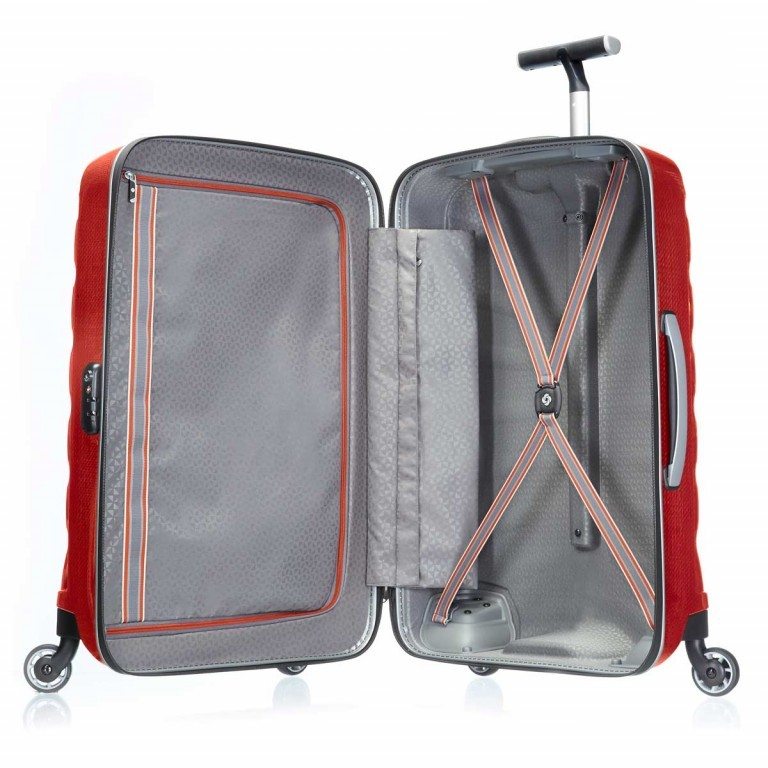 Samsonite Firelite 48576 Spinner 75 Chili Red, Farbe: rot/weinrot, Manufacturer: Samsonite, Dimensions (cm): 52.0x75.0x31.0, Image 4 of 8