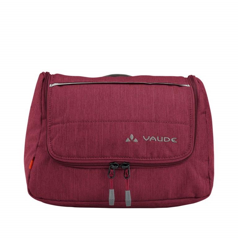 VAUDE Washpool-M Rot, Farbe: rot/weinrot, Marke: Vaude, Abmessungen in cm: 28.0x15.0x21.0, Bild 1 von 3