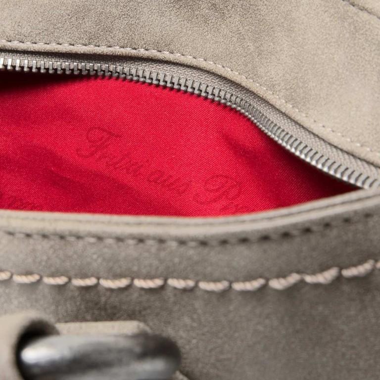 Fritzi aus Preußen Vintage Alessia Tasche Synthetik Pebble, Farbe: grau, Marke: Fritzi aus Preußen, Abmessungen in cm: 27.0x19.0x5.0, Bild 3 von 3