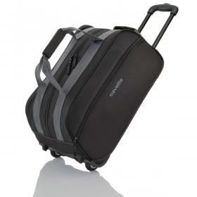 Travelite Basic Rollenreisetasche 55cm Schwarz