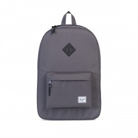 Herschel Rucksack Heritage Rubber 19L Charcoal Black Native