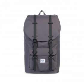Herschel Rucksack Little America 23L Charcoal Black Native Rubber