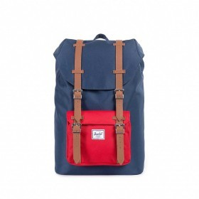 Herschel Rucksack Little America Medium 14L Navy Red