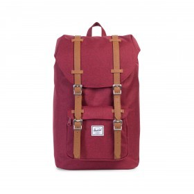 Herschel Rucksack Little America Medium 14L Winetasting Crosshatch Tan