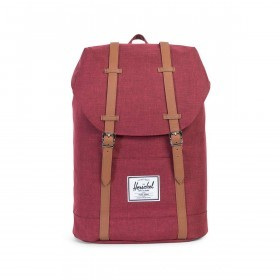 Herschel Rucksack Retreat 18L Winetasting Crosshatch Tan
