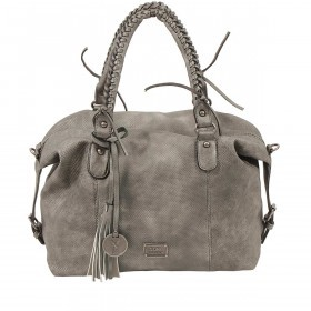 SURI FREY Romy Bowlingbag L Synthetik Dark Grey