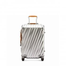 Tumi 19 Degree International Carry On 56cm 4Rollen Texture Silver