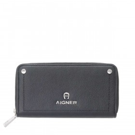 AIGNER Ava Flachbörse 156635 Black