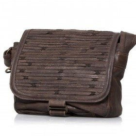Bull & Hunt Twenty Five Kuriertasche Shabby Olive Brown